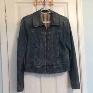 Cropped GAP jean jacket